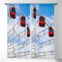 Ferris Wheel in the Sky  Blackout Curtain