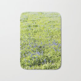 Texas Bluebonnet Field Bath Mat
