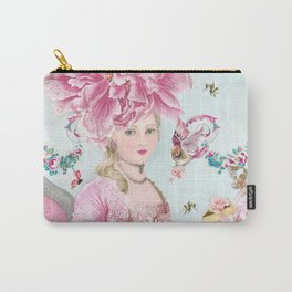 Marie Antoinette Wallflower Carry-All Pouch