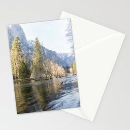 The Merced Flows Through It Stationery Cards