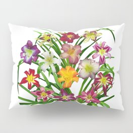 Display of daylilies II Pillow Sham