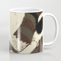 racoon Mugs featuring Raino Racoon by René Barth