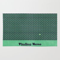 finding nemo Area & Throw Rugs featuring Finding Nemo by Matt Bacon