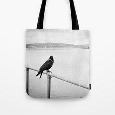 Eerie Bird Tote Bag
