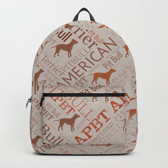 American Pit Bull Terrier by k9printart