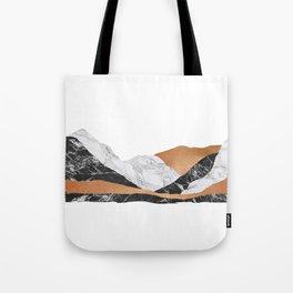 Marble Landscape I, Minimal Art Tote Bag