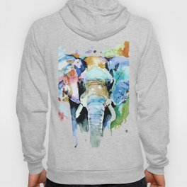 Animal painting Hoody