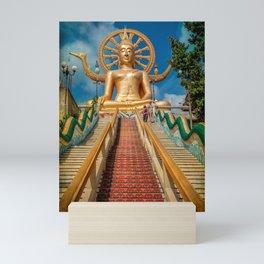 Lord Buddha Mini Art Print