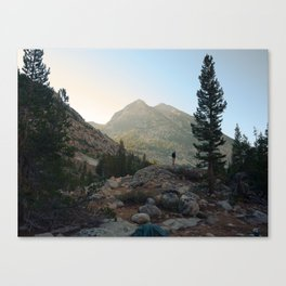 FROM THE TENT Canvas Print