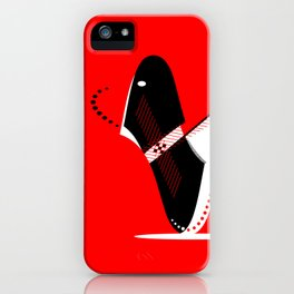 Manly Bird iPhone Case