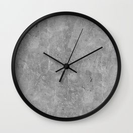 Simply Concrete II Wall Clock