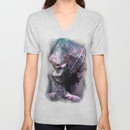 Fluorite Goddess Unisex V-Neck