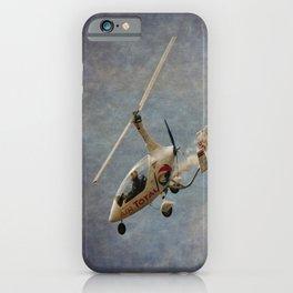 Autogyro iPhone Case