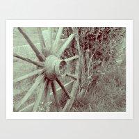 Last Wheel Art Print