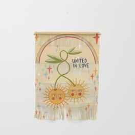 United in love Wall Hanging
