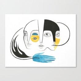 Palavras Canvas Print