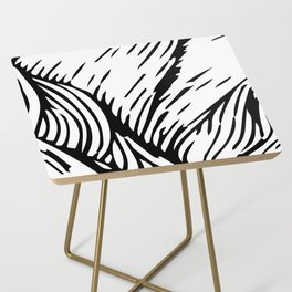 woodcut Side Table