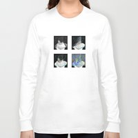 frames Long Sleeve T-shirts featuring Triangles Redux, Selected Frames by Daniel M. Thompson