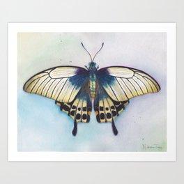 Butterfly Prayer Art Print