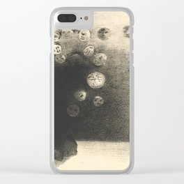 "Odilon Redon ""N'y a-t-il pas un monde invisible"" Clear iPhone Case"