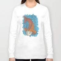 koi Long Sleeve T-shirts featuring KOI by Matthew Taylor Wilson