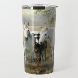 Connemara Ponies Travel Mug