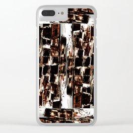 The Thrash Craft Coaster Mandala Clear iPhone Case