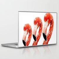 flamingo Laptop & iPad Skins featuring Flamingo by Regan's World