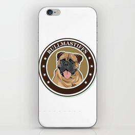 dog breed Bullmastiff iPhone Skin