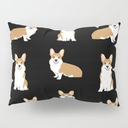 Corgis - Cute corgi, dog pet, corgi decor, corgi pillow, corgi bedding, corgi pattern, cute corgi Pillow Sham