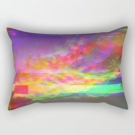 suǹse̵t ͟t͏r̸a͡s̶h҉ Rectangular Pillow
