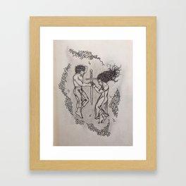 Tristan & Isolde Framed Art Print