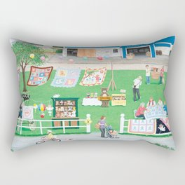 Dockside Bears Rectangular Pillow