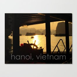 hanoi, vietnam Canvas Print