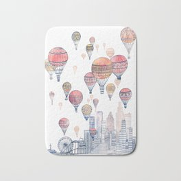 Voyages Over Santa Monica ~ Refresh Bath Mat