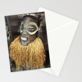 African Mask #2 Stationery Cards