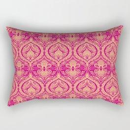Simple Ogee Pink Rectangular Pillow