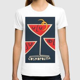 Cosmopolitan Cocktail T-shirt