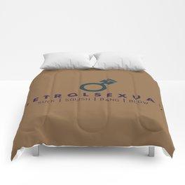 PETROLSEXUAL v4 HQvector Comforters