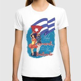 Cuban Carnaval Dancing T-shirt