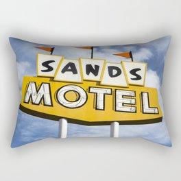 Sands Motel Rectangular Pillow