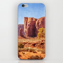 Most Interesting View of Monument Valley iPhone Skin