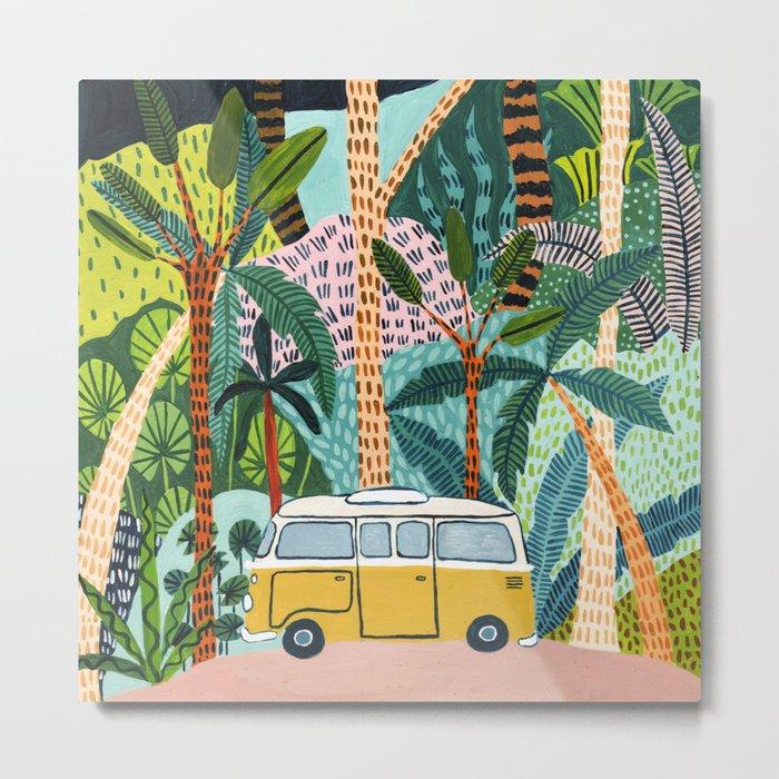 Jungle Camper Metal Print