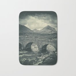 The Bridge and the Cuillin II Bath Mat