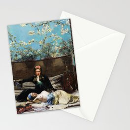 Oriental Lovers Stationery Cards