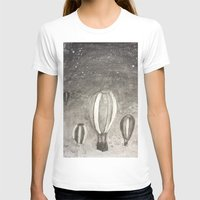 hot air balloons T-shirts featuring Hot Air Balloons by Evanne Deatherage