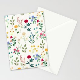 Spring Botanicals Stationery Cards