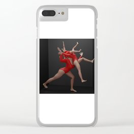 Body loop Clear iPhone Case