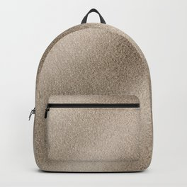 Champagne Ombre Sand Glitter Backpack