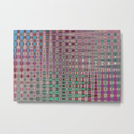 Geometric Ornament abstract Metal Print